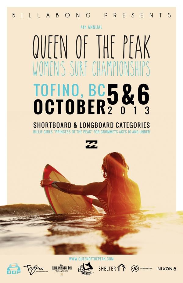 Queen of the Peak poster 2013